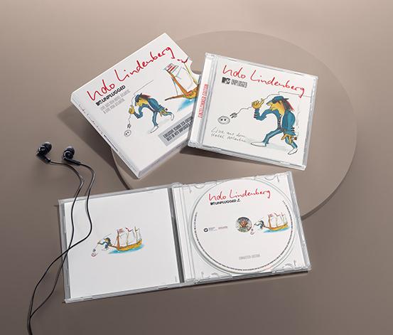 Doppel-CD: »Udo Lindenberg – Best of MTV unplugged«