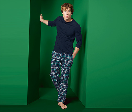 Flanelové pyžamo