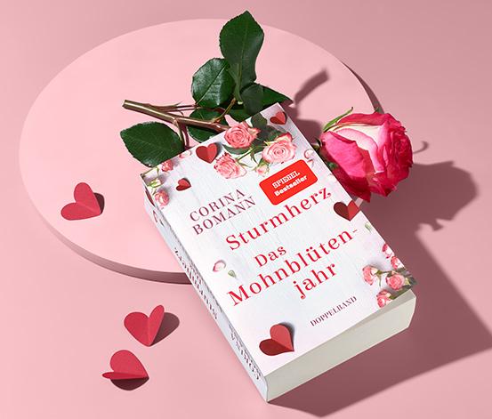 Doppelroman »Sturmherz« und »Das Mohnblütenjahr«