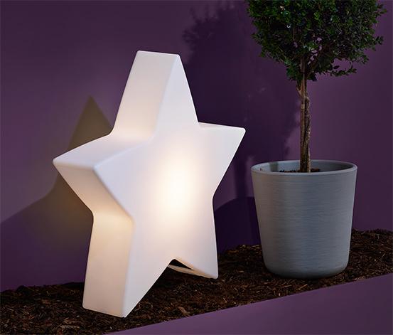 Grande lampe solaire «étoile»
