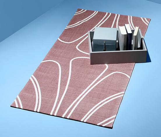 Bawełniany dywan z nadrukiem