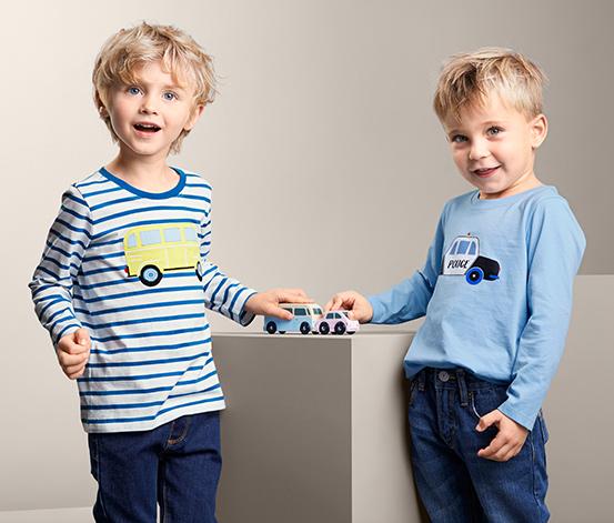 Koszulki chłopięce z długim rękawem, 2 sztuki
