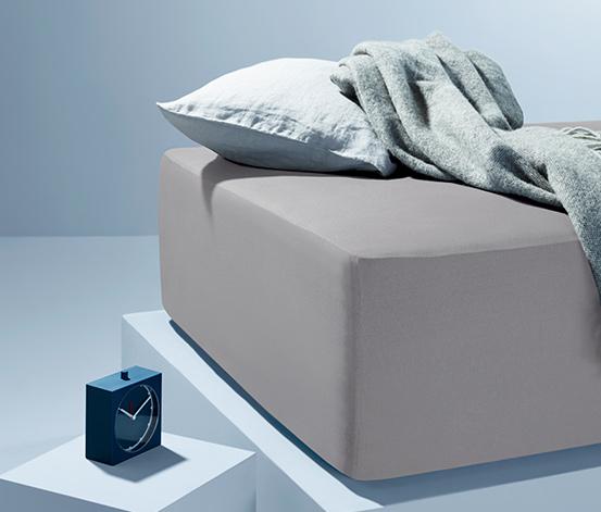 Žerzejové napínací prostěradlo na vysokou matraci, standardní velikost