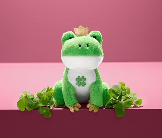 Kvákající žába pro štěstí