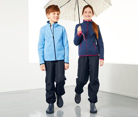 Lacivert Yağmur Pantolonu