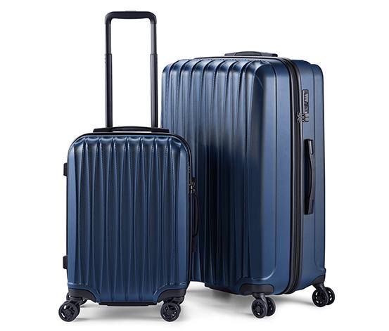 Sada kufrů z tvrdé skořepiny, velký a malý
