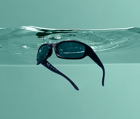 Polarizált napszemüveg, tokkal