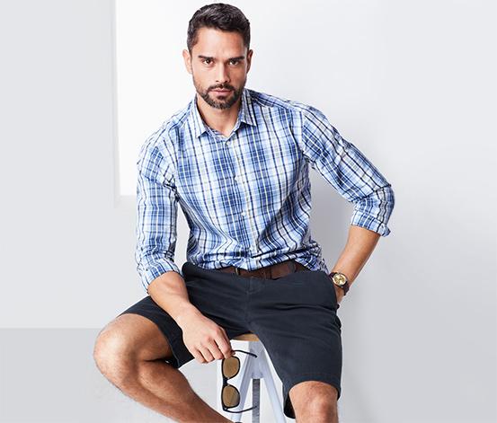 Shorts mit leichter Struktur