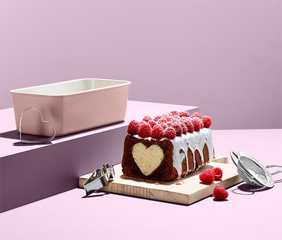Podłużna forma do pieczenia ciasta