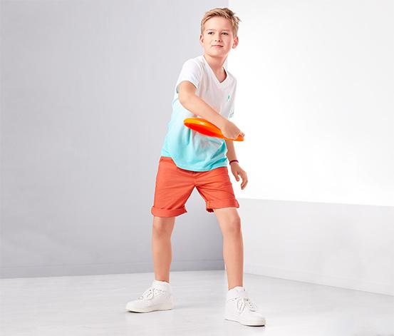 Fiú rövidnadrág, narancssárga
