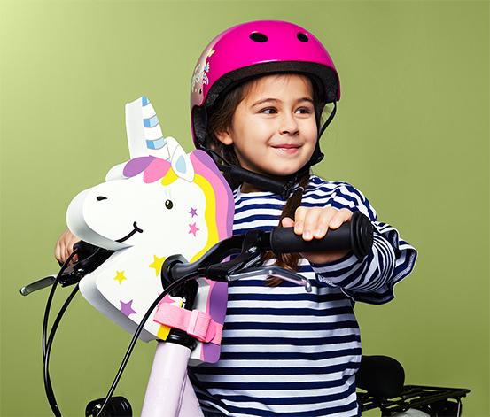 Nakładka na kierownicę dla dzieci »jednorożec«