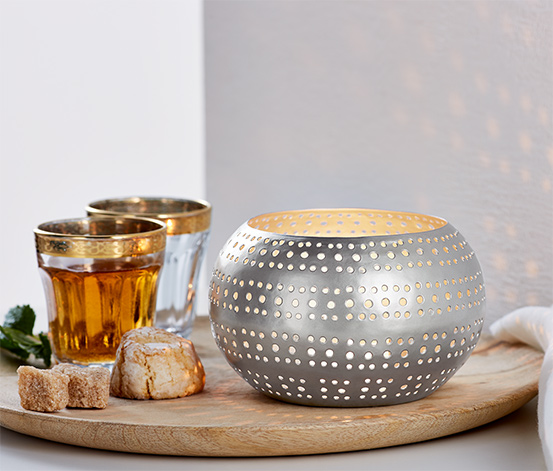 Svietnik na čajovú sviečku