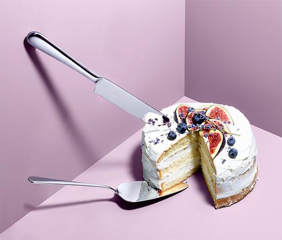 Lopatka a nôž na tortu, 2-dielna súprava
