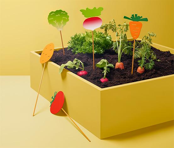 Tchibo Beetstecker »Gemüse«