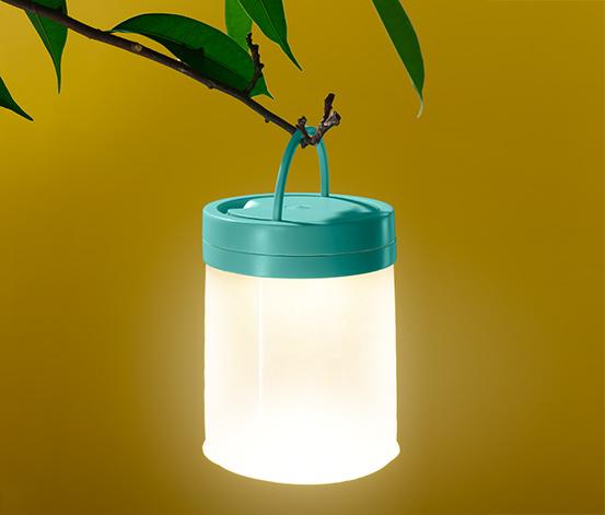Nafukovací svítidlo s LED