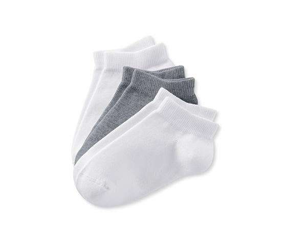 Ponožky sneaker, 3 páry
