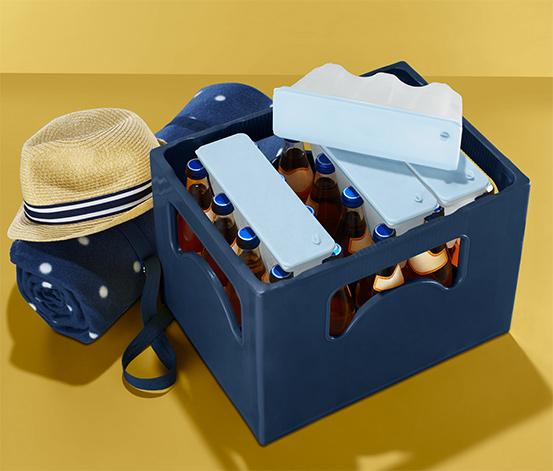 Wkłady chłodzące do skrzynek z napojami, 4 sztuki