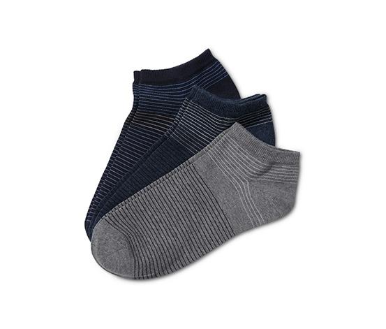 3 paires de socquettes
