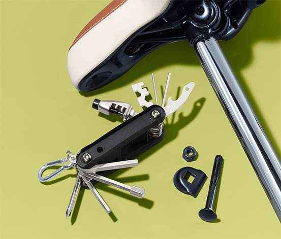 Cyklistický multifunkční nástroj
