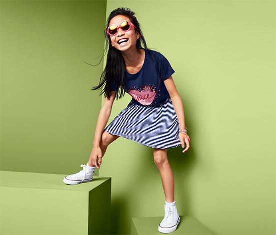 Lány flitteres póló