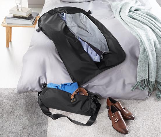 2-in-1-Reisetasche mit Kleidersack