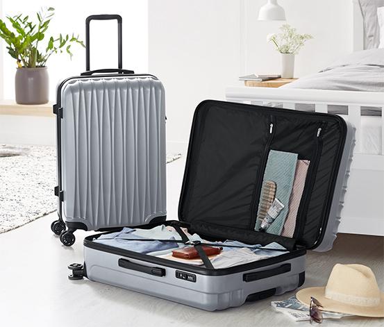 Sert Kabuklu Bavul Seti, Orta ve Büyük Boy