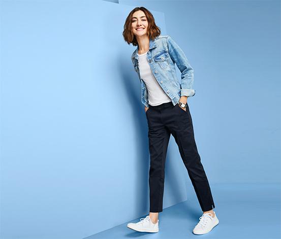 Kalhoty s délkou po kotníky