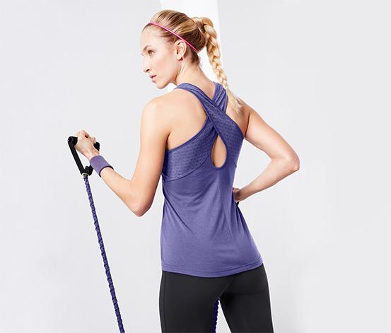 Lila Dryactive Plus Spor Atlet