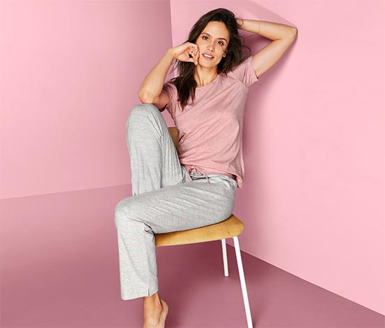 Kortærmet pyjamas