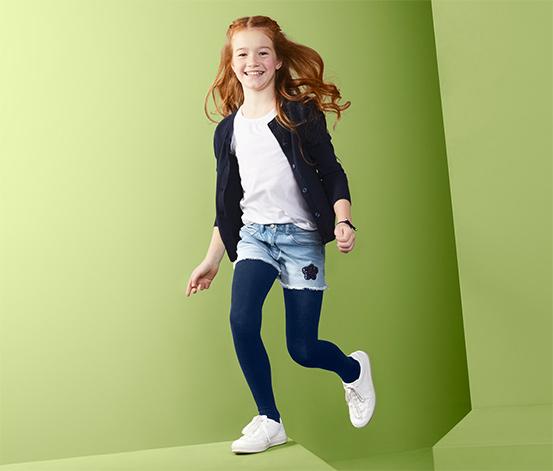 Jeans-Shorts mit Wendepailletten