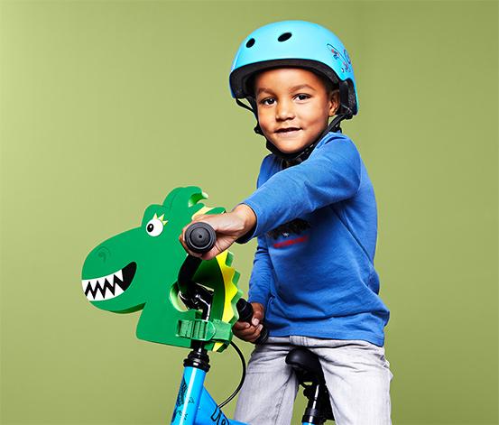 Dekoration til cykelstyret »Drage«