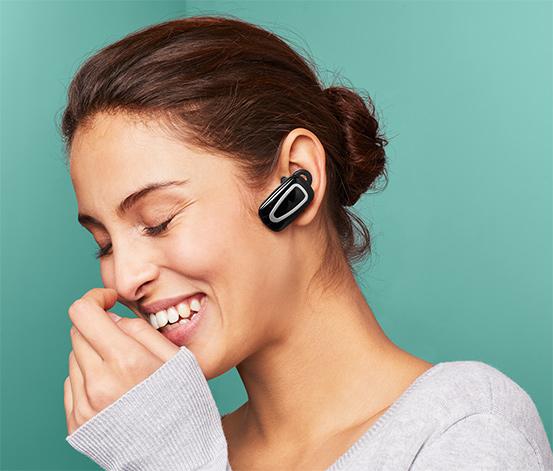 Sada handsfree in ear s USB nabíječkou do auta