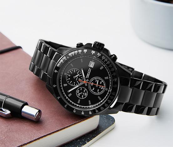 Zegarek ze stali nierdzewnej - chronograf