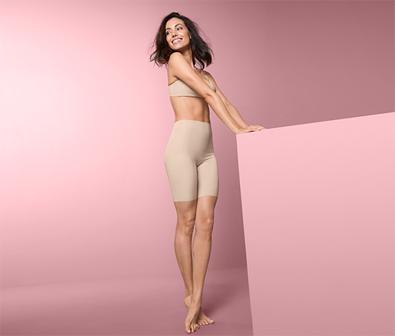 Stahovací kalhotky s dlouhými nohavičkami