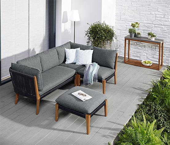 Kültéri ülőgarnitúra kanapé elem