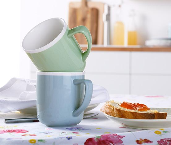 2 ceramiczne kubki po 350 ml