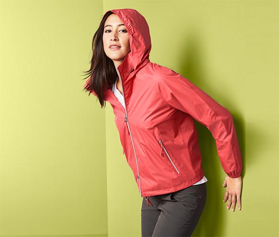 Skladacia ľahká bunda do dažďa