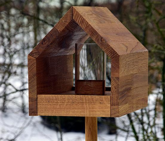 Tchibo Dobar-Design-Futterhaus »Bauhaus I«, Eiche, geölt