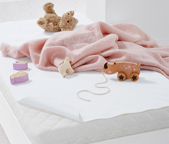 Kinderbett-Matratzenauflage