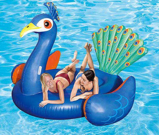 Summer-Waves-Badeinsel »Pfau«