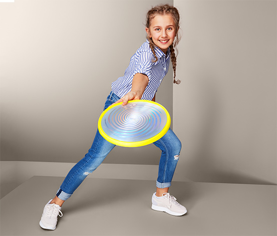Lietajúci tanier s LED