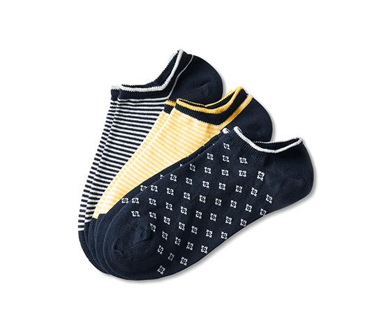 3 Paar Sneakersocken