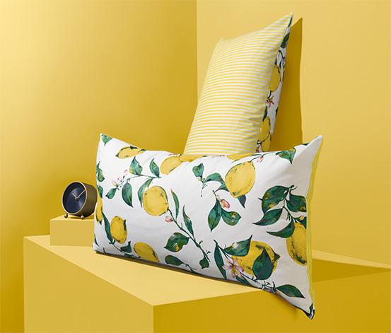 Zestaw 2 bawełnianych poszewek na poduszki, ok. 40 x 80 cm każda