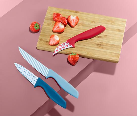 Noże kuchenne, 3 sztuki