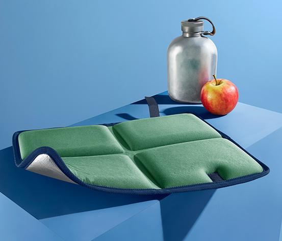 Składana, termiczna poduszka do siedzenia
