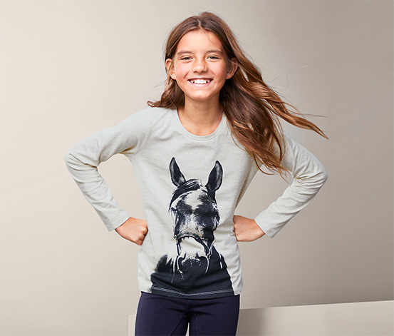 Dziecięca koszulka z długim rękawem