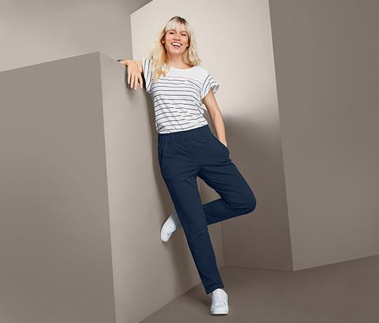 Damskie spodnie dresowe o długości do kostek
