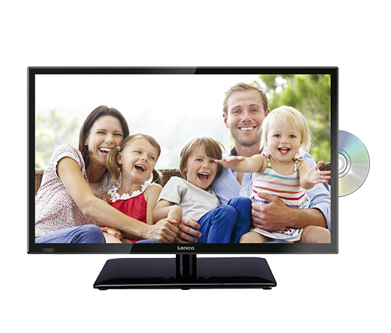 "Lenco-24""-Full-HD-LED-TV mit DVD-Player"