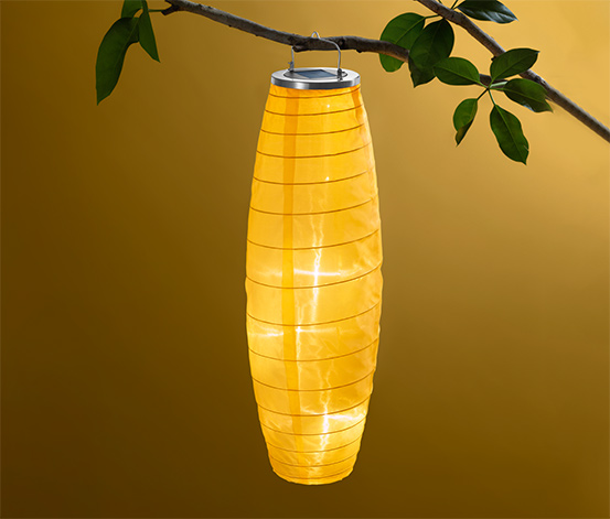 Solar-Lampion, lang