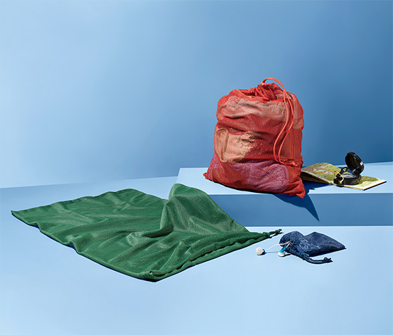 3 sacs en filet mesh pour l'extérieur